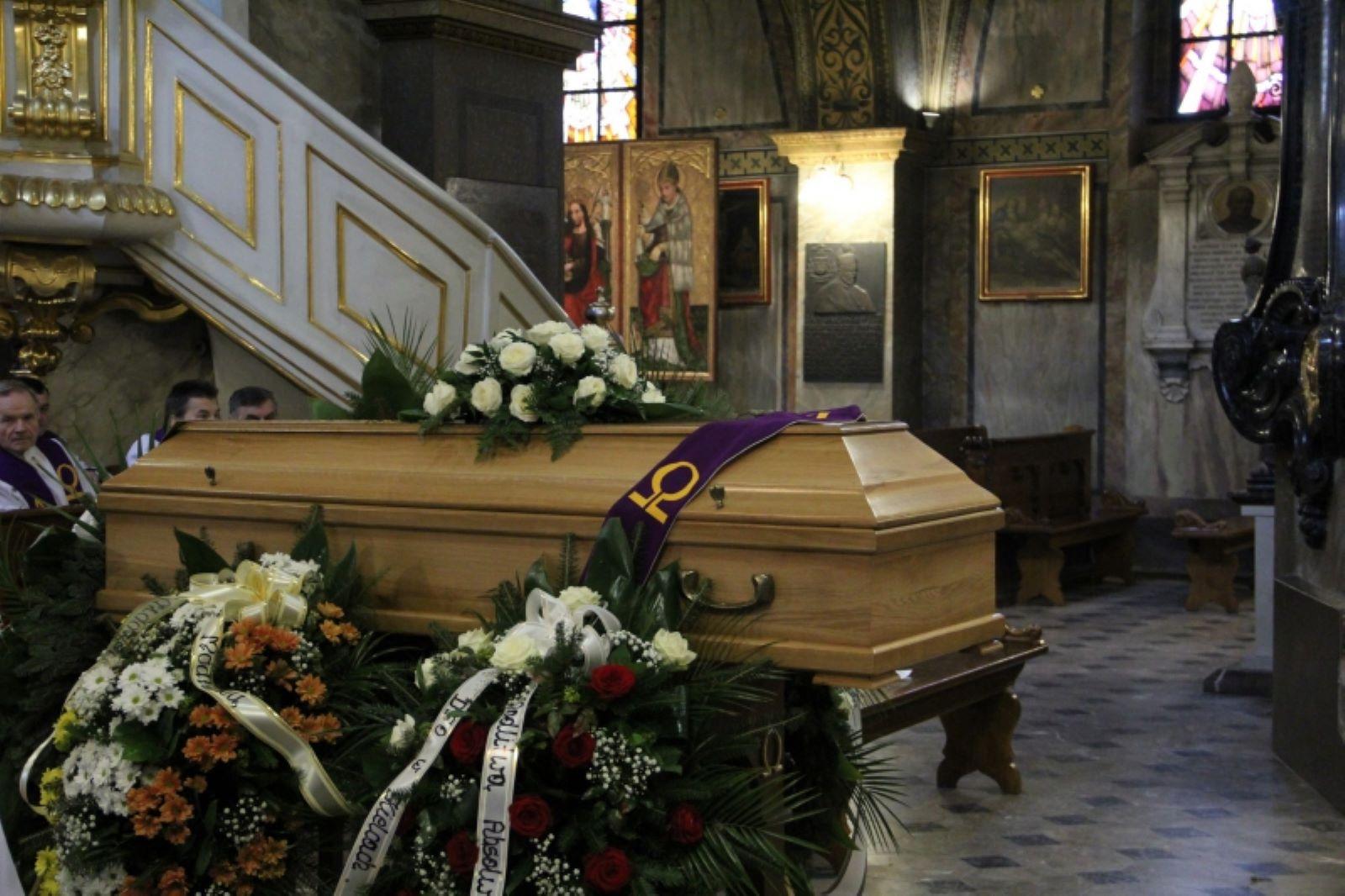 pogrzeb w kościele