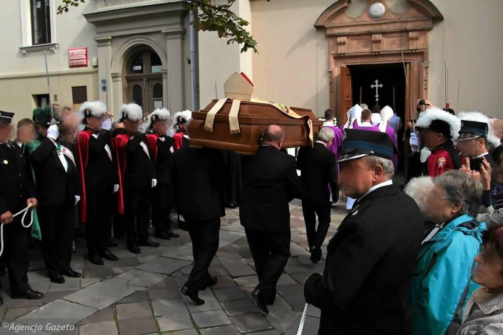 pogrzeb Kielce